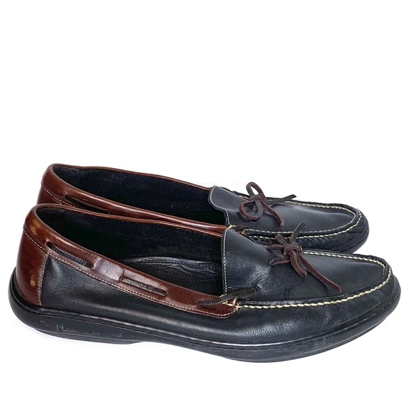 Cole Haan Other - Cole Haan Two Tone Lakeside Leather Loafers